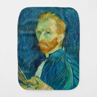 Vincent van Gogh Self Portrait 1889 Painting Burp Cloth
