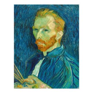 Vincent van Gogh Self Portrait 1889 Painting Letterhead