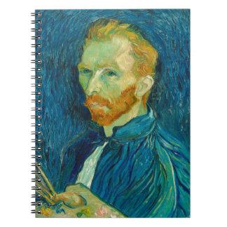 Vincent van Gogh Self Portrait 1889 Painting Notebook