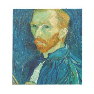 Vincent van Gogh Self Portrait 1889 Painting Notepad