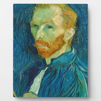 Vincent van Gogh Self Portrait 1889 Painting Plaque