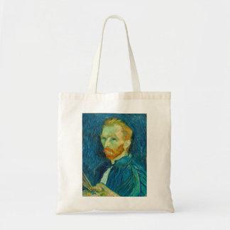 Vincent van Gogh Self Portrait 1889 Painting Tote Bag