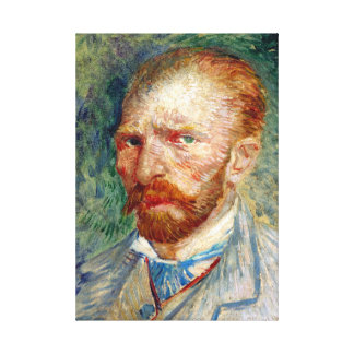 Vincent van Gogh Self-Portrait Canvas Print