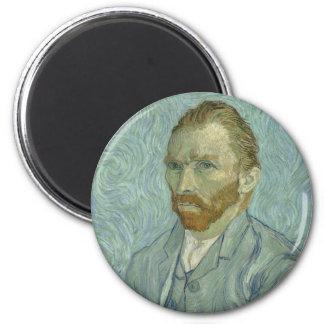 Vincent Van Gogh Self Portrait Classic Art work Magnet