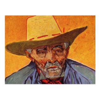 Vincent Van Gogh - Self Portrait Elderly Postcard