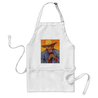 Vincent Van Gogh - Self Portrait Elderly Standard Apron