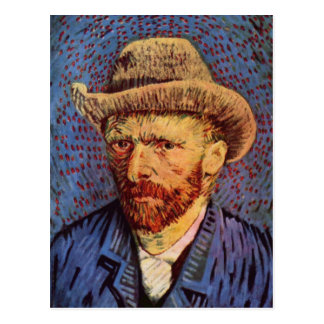 Vincent Van Gogh Self Portrait Postcard