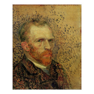 Vincent Van Gogh Self Portrait Poster
