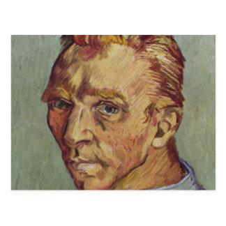 Vincent Van Gogh Self Portrait Shaven Postcard