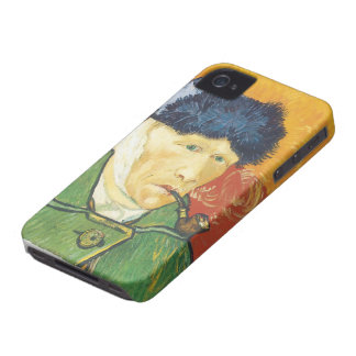 Vincent Van Gogh- Self-Portrait with Bandaged Ear Case-Mate iPhone 4 Cases