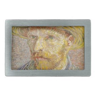 Vincent Van Gogh Self Portrait with Straw Hat Art Belt Buckles