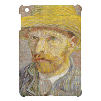 Vincent Van Gogh Self Portrait with Straw Hat Art iPad Mini Cover