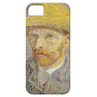 Vincent Van Gogh Self Portrait with Straw Hat Art iPhone 5 Cases