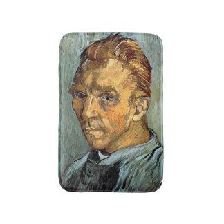 VINCENT VAN GOGH - Self portrait without beard Bath Mat