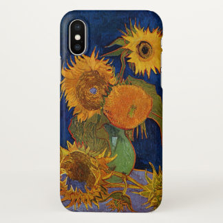 Vincent van Gogh Six Sunflowers GalleryHD Fine Art iPhone X Case