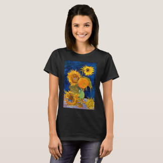 Vincent Van Gogh - Six Sunflowers T-Shirt