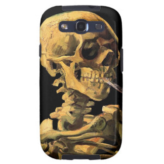 Vincent Van Gogh - Skull With Burning Cigarette Galaxy S3 Case
