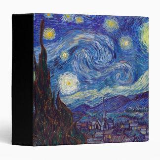 VINCENT VAN GOGH - Starry night 1889 Binder
