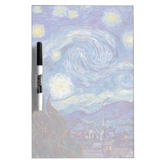 VINCENT VAN GOGH - Starry night 1889 Dry Erase Board