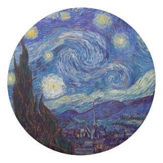 VINCENT VAN GOGH - Starry night 1889 Eraser