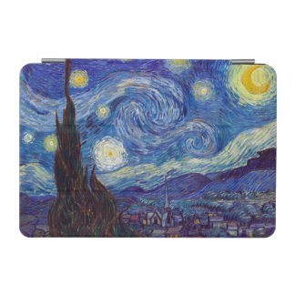 VINCENT VAN GOGH - Starry night 1889 iPad Mini Cover
