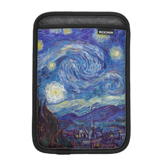 VINCENT VAN GOGH - Starry night 1889 iPad Mini Sleeve