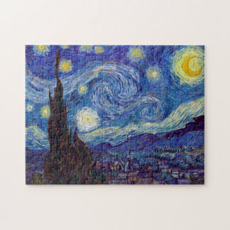 VINCENT VAN GOGH - Starry night 1889 Jigsaw Puzzle