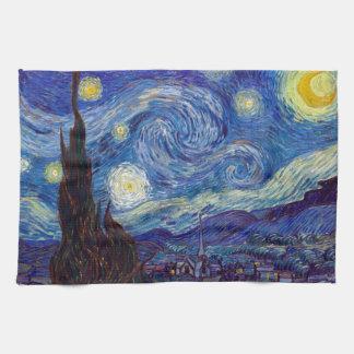 VINCENT VAN GOGH - Starry night 1889 Kitchen Towel