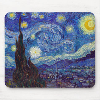 VINCENT VAN GOGH - Starry night 1889 Mouse Pad