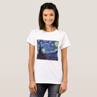 VINCENT VAN GOGH - Starry night 1889 T-Shirt