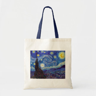 VINCENT VAN GOGH - Starry night 1889 Tote Bag