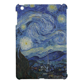 Vincent Van Gogh - Starry Night. Art Painting Case For The iPad Mini