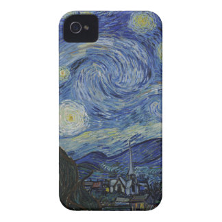 Vincent Van Gogh - Starry Night. Art Painting iPhone 4 Covers