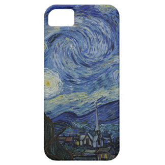 Vincent Van Gogh - Starry Night. Art Painting iPhone 5 Case