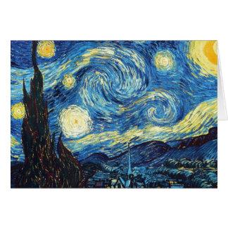 Vincent Van Gogh - Starry Night Card