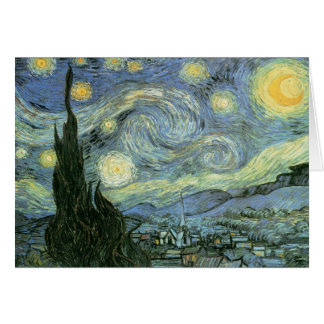 Vincent Van Gogh - Starry Night Greeting Card