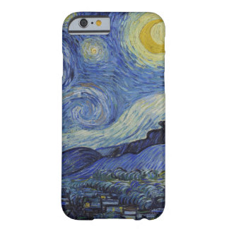 Vincent van Gogh Starry Night GalleryHD Fine Art Barely There iPhone 6 Case