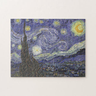 Vincent van Gogh - Starry Night Jigsaw Puzzle