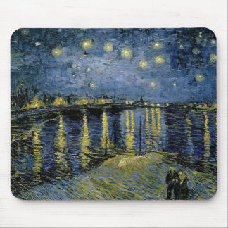 Vincent van Gogh - Starry Night Mouse Pad