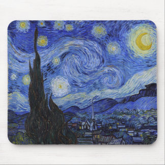 "Vincent Van Gogh ""Starry Night"" Mousepad"