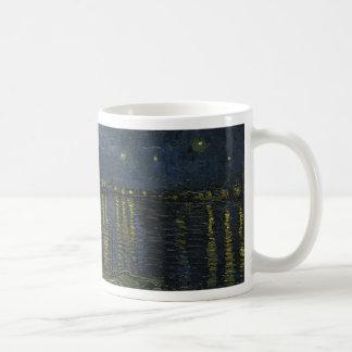 Vincent Van Gogh Starry Night Over the Rhone Art Coffee Mug