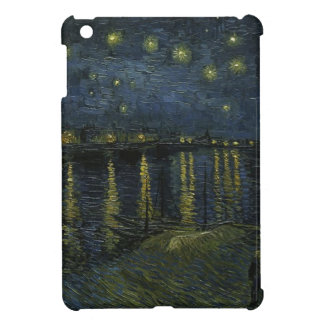 Vincent Van Gogh Starry Night Over the Rhone Art iPad Mini Cover
