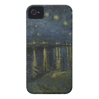 Vincent Van Gogh Starry Night Over the Rhone Art iPhone 4 Case-Mate Cases