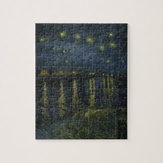 Vincent Van Gogh Starry Night Over the Rhone Art Jigsaw Puzzle