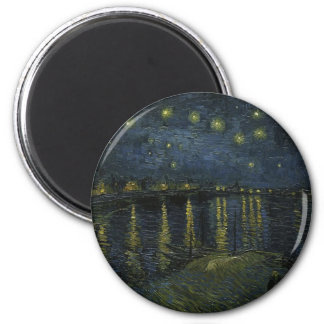 Vincent Van Gogh Starry Night Over the Rhone Art Magnet