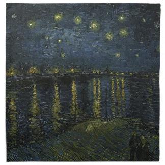 Vincent Van Gogh Starry Night Over the Rhone Art Napkin