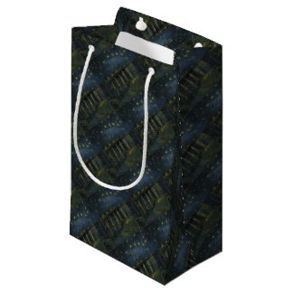Vincent Van Gogh Starry Night Over the Rhone Art Small Gift Bag