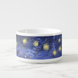 Vincent Van Gogh Starry Night Over The Rhone Bowl