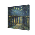 Vincent van Gogh | Starry Night Over the Rhone Canvas Print