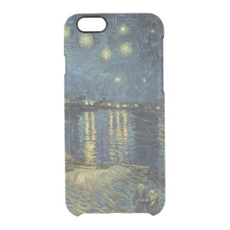 Vincent van Gogh | Starry Night Over the Rhone Clear iPhone 6/6S Case
